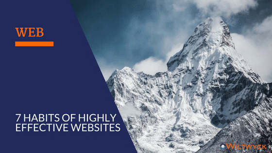 The 7 Habits of Highly Effective Websites | Wiltwyck Web Design