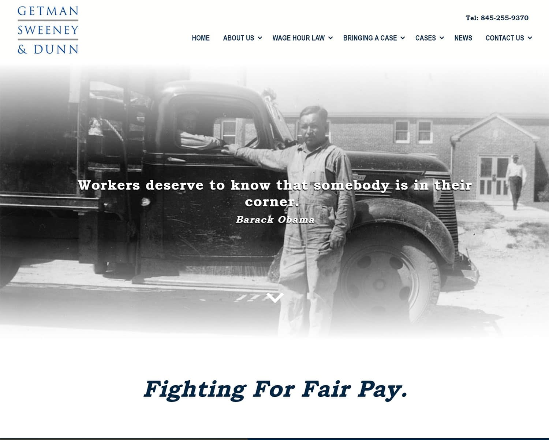 website design portfolio - GSD