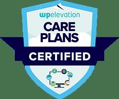 Website Care Plan Certification Badge